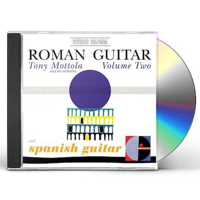 Tony Mottola ROMAN GUITAR 2 & SPANISH GUITAR CD