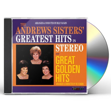 Andrews Sisters GREATEST HITS IN STEREO / GREAT GOLDEN HITS CD