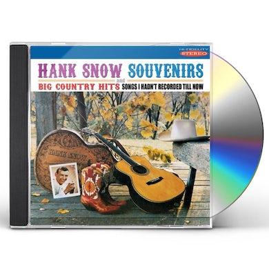 Hank Snow SOUVENIRS & BIG COUNTRY HITS CD