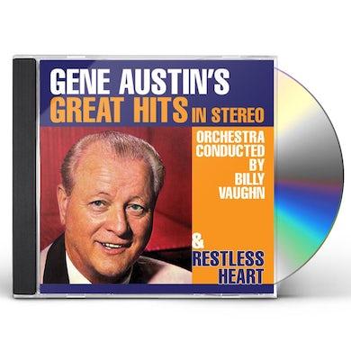 GENE AUSTIN'S GREAT HITS IN STEREO CD