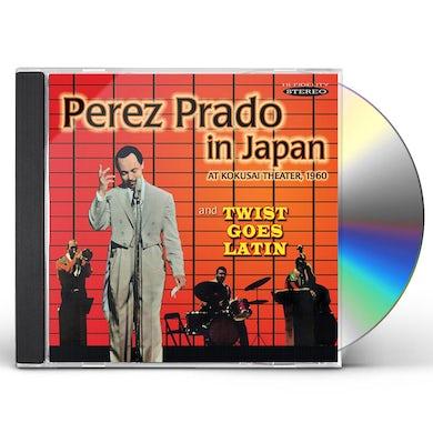 Perez Prado PRADO IN JAPAN & TWIST GOES LATIN CD