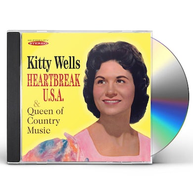 Kitty Wells HEARTBREAK U.S.A. & QUEEN OF COUNTRY MUSIC CD