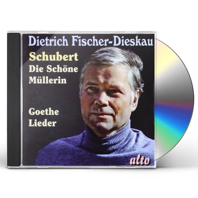 Schubert DIE SCHONE MULLERIN FAVORITE LIEDER DIETRICH CD