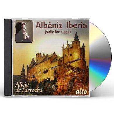 Albeniz IBERIA ALICIA DE LARROCHA CD