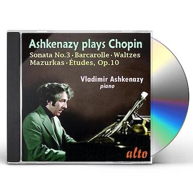 Chopin ETUDES OP. 10 SONATA NO. 3 WALTZES MAZURKAS BARCA CD