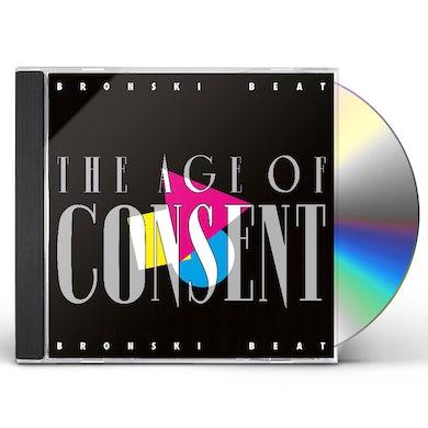 Bronski Beat AGE OF CONSENT CD