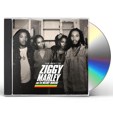 BEST OF ZIGGY MARLEY & MELODY MAKERS CD
