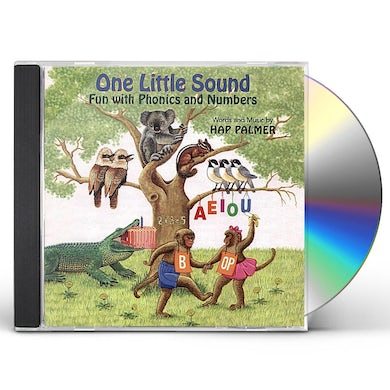 Hap Palmer ONE LITTLE SOUND - FUN WITH PHONICS AND NUMBERS CD