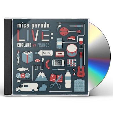 Mice Parade LIVE: ENGLAND VS FRANCE CD