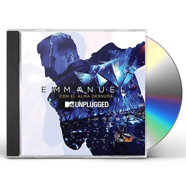 Emmanuel CON EL ALMA DESNUDA: MTV UNPLUGGED CD