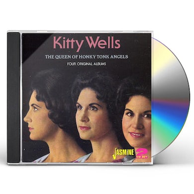 Kitty Wells QUEEN OF HONKY TONK ANGELS CD