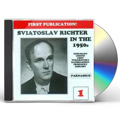 Sviatoslav Richter IN THE 1950'S 1 CD
