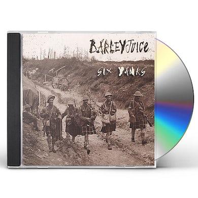 Barleyjuice SIX YANKS CD
