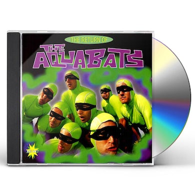 RETURN OF AQUABATS CD