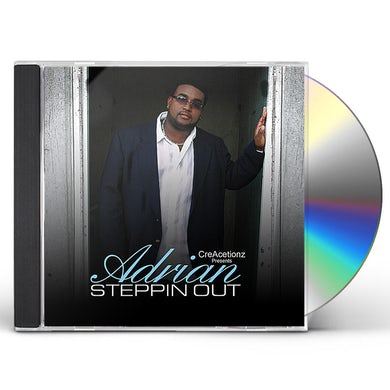 Adrian STEPPIN OUT CD