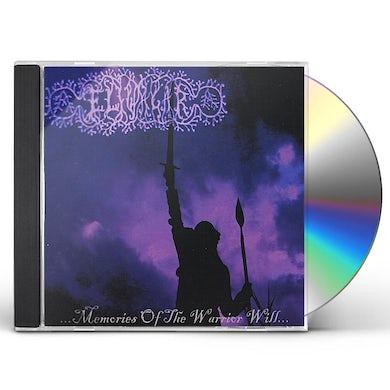ELIWAGAR MEMORIES OF THE WARRIOR WILL CD