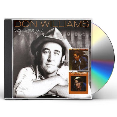 Don Williams VOLUME 1 / VOLUME 2 CD