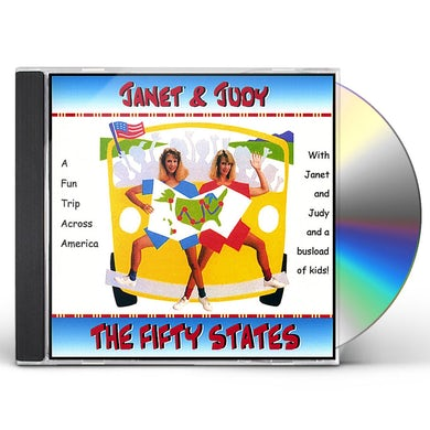 Janet & Judy MUSICAL TOUR OF THE FIFTY STATES CD