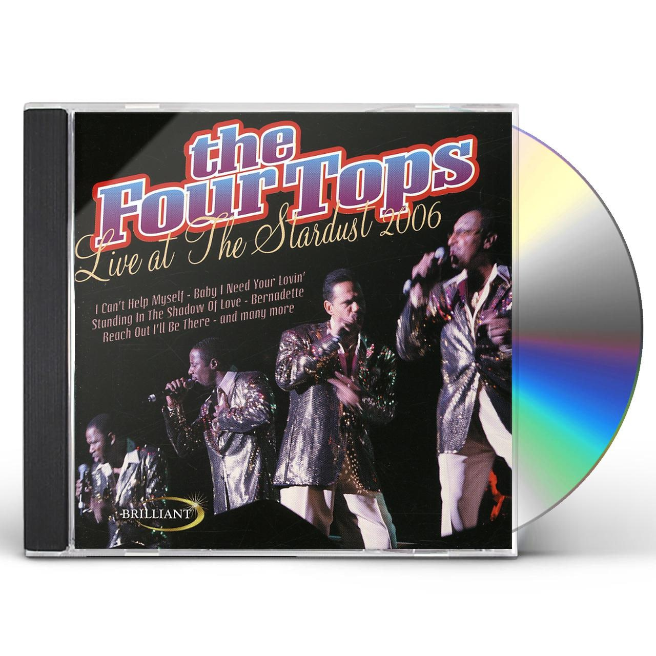 Four Tops LIVE AT THE STARDUST 2006 CD
