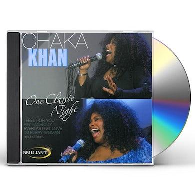Chaka Khan ONE CLASSIC NIGHT CD