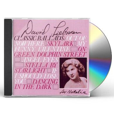 David Liebman CLASSIC BALLADS CD