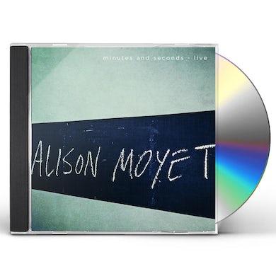 Alison Moyet MINUTES & SECONDS LIVE CD
