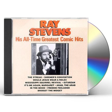 Ray Stevens HIS ALL-TIME GREATES COMIC HITS CD