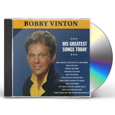 Bobby Vinton MR LONELY: HIS GREATEST SONGS TODAY CD