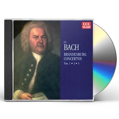 J.S. Bach BRANDENBURG CONCERTI 1,3,5 CD