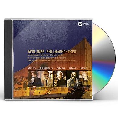 Berliner Philharmoniker IN AUFNAHMEN MIT IHREN CHEFDIRIGENTEN CD