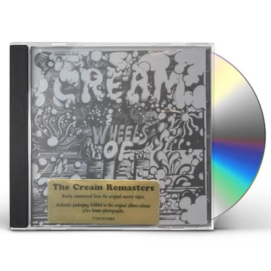 Cream WHEELS OF FIRE CD