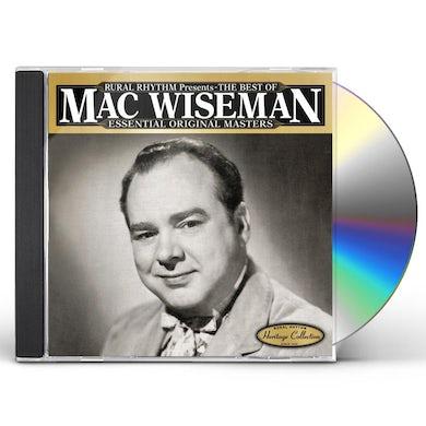 Mac Wiseman BEST OF: ESSENTIAL ORIGINAL MASTERS 25 CLASSICS CD
