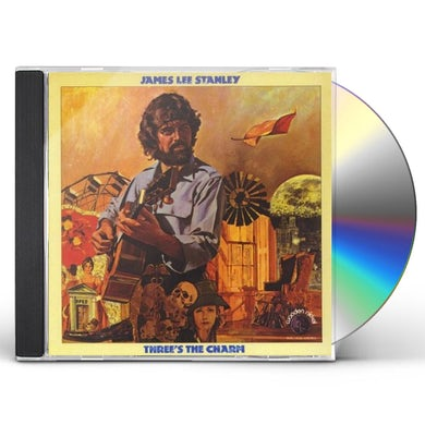 James Lee Stanley THREE'S THE CHARM CD
