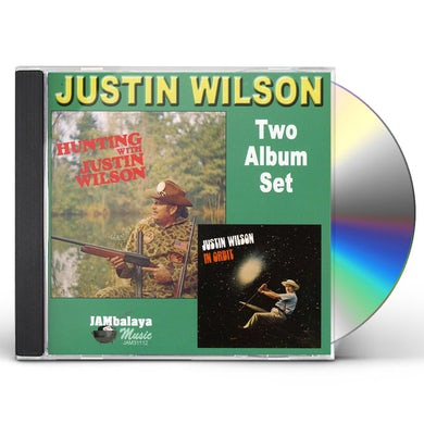 Justin Wilson HUNTING WITH / IN ORBIT CD