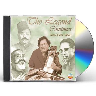 Sultan Khan LEGEND CONTINUES CD