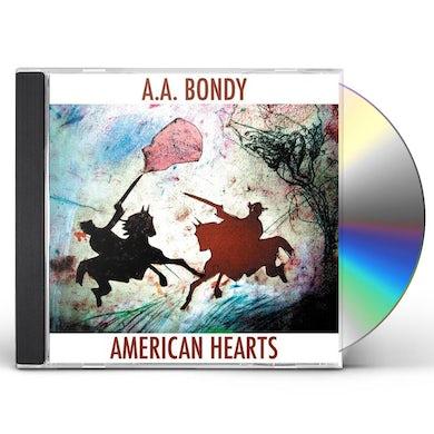 A.A. Bondy AMERICAN HEARTS CD