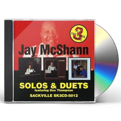 Jay McShann SOLOS & DUETS CD