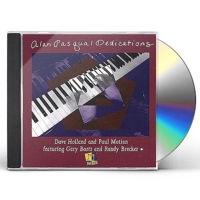 Alan Pasqua DEDICATIONS CD