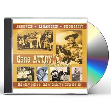 Gene Autry EARLY YEARS OF ONE OD COUNTRY'S BIGGEST STARS CD