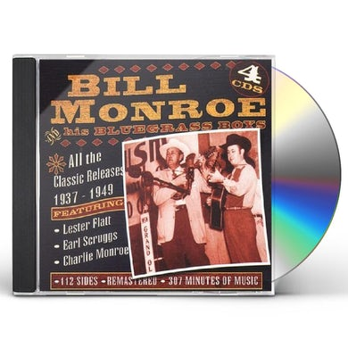 Bill Monroe ALL THE CLASSIC RELEASES 1937-1949 CD