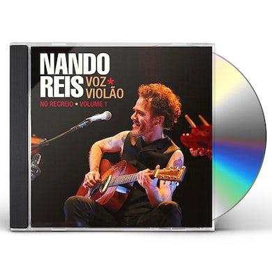 Nando Reis VOZ E VIOLAO - NO RECREIO - V.1 CD