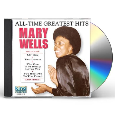 Mary Wells ALL-TIME GREATEST HITS CD