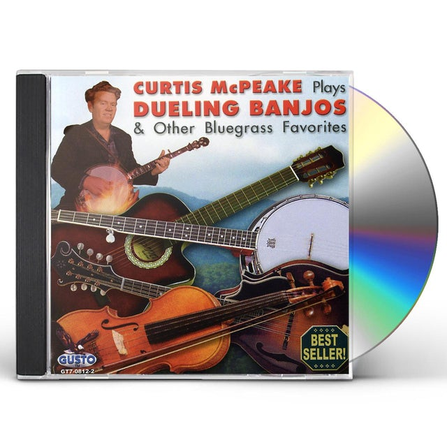Curtis Mcpeake PLAYS DUELING BANJOS & OTHER BLUEGRASS FAVORITES CD