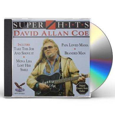 David Allan Coe SUPER HITS CD