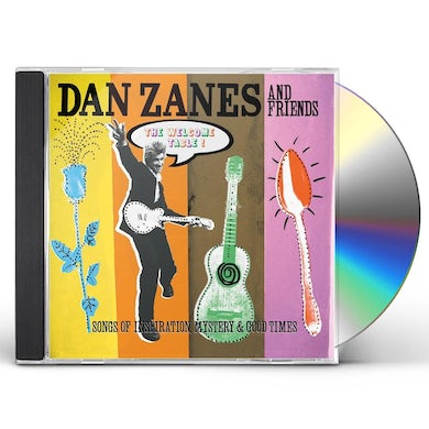 Dan Zanes WELCOME TABLE: SONGS OF INSPIRATION MYSTERY & GOOD CD