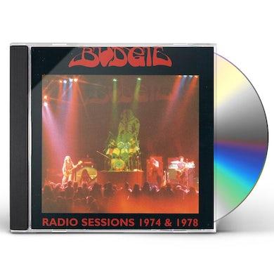Budgie RADIO SESSIONS 74 & 78 CD
