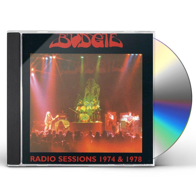 Budgie RADIO SESSIONS 74 & 78 CD
