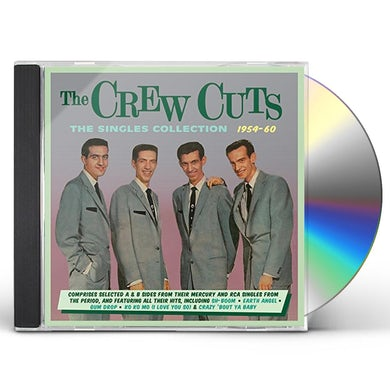 Crew Cuts SINGLES COLLECTION 1954-60 CD