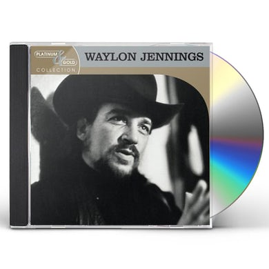 Waylon Jennings PLATINUM & GOLD COLLECTION CD