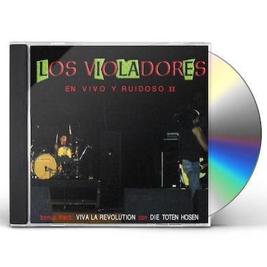Los Violadores EN VIVO Y RUIDOSO II CD